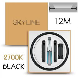 SKYLINE ORION EXKLUZÍV Indirekt világítás 24V 8,7W/m 2700K 12m hosszú Fekete