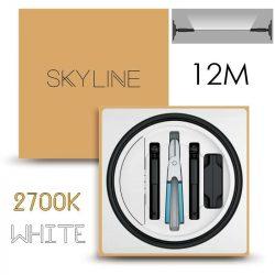 SKYLINE ORION EXKLUZÍV Indirekt világítás 24V 8,7W/m 2700K 12m hosszú Fehér