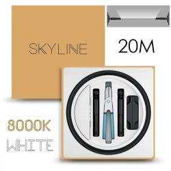 SKYLINE MILKY WAY EXKLUZÍV Indirekt világítás 24V 8,7W/m 3000K 20m hosszú Fehér