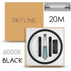 SKYLINE MILKY WAY EXKLUZÍV Indirekt világítás 24V 8,7W/m 6000K 20m hosszú Fekete
