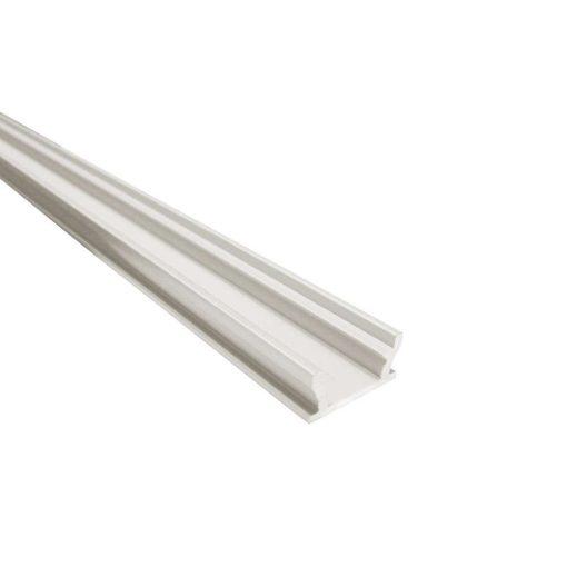 Alumínium led profil led szalagokhoz Lépésálló Ezüst 1 méteres