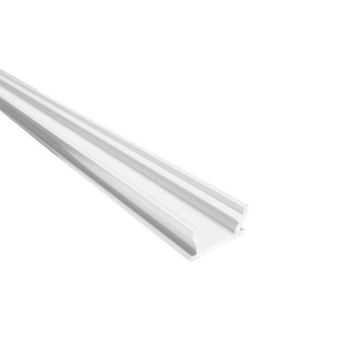 Alumínium led profil led szalagokhoz Lépésálló Fehér 2 méteres