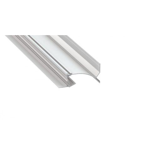 Led Alumínium Profil TOPO 1 méter Fehér