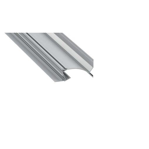 Led Alumínium Profil TOPO 2 méter Ezüst