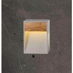 TOTEM WIDE Kültéri Beton Lámpa Antracit