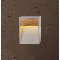 TOTEM WIDE Kültéri Beton Lámpa Csokoládé