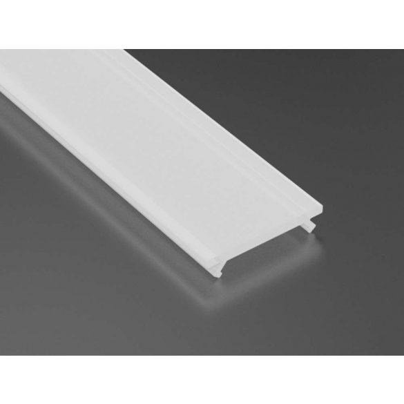 Tejfehér PMMA takaróprofil 2 méteres profilhoz