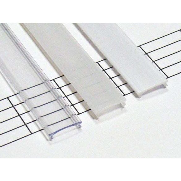 Magasított Opál PMMA takaróprofilok 1 méteres profilokhoz