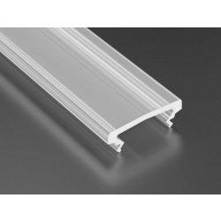 Magasított Opál PMMA takaróprofilok 2 méteres profilokhoz