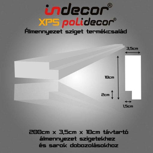 Indecor® TT-SD plusz távtartó