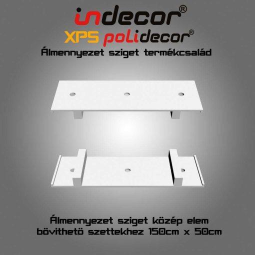 Indecor® UKE-150 Univerzális középelem