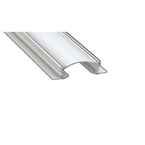 Led Alumínium Profil VEDA 1 méter Fehér