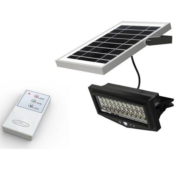VML-01T Beltéri/kültéri napelemes lámpa mozgásérzékelővel és távirányítóval
