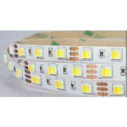 Led szalag 3527 CCT 60led/m 9,6W/m 12V Prémium minőség 1 év jótállás