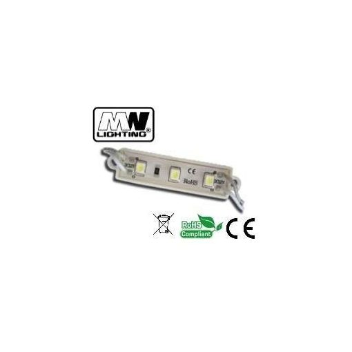 Led Modul 1db 3x2835 led 1,44W sorolható vízálló meleg fehér
