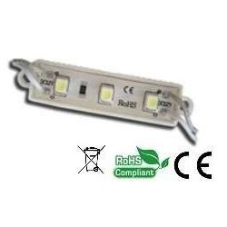 Led Modul 1db 2x3528 led 0,48W sorolható vízálló hideg fehér mini