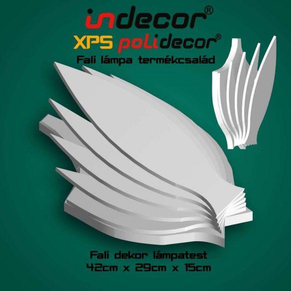 Indecor® XPS-lampa-01 Fali Dekor Lámpa test