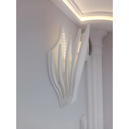 Indecor® XPS-lampa-01V Fali Dekor Lámpa