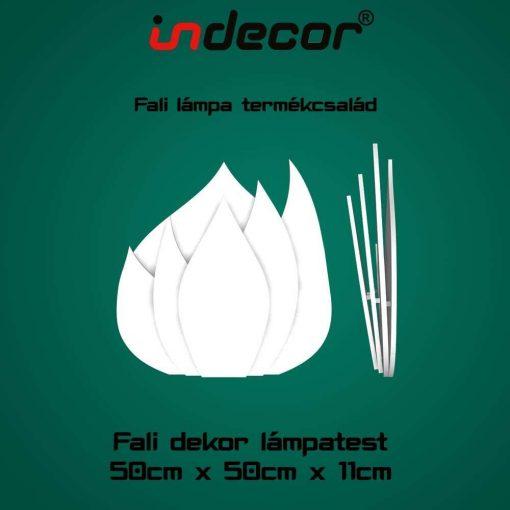 Indecor® XPS-lampa-02 Fali Dekor Lámpa test