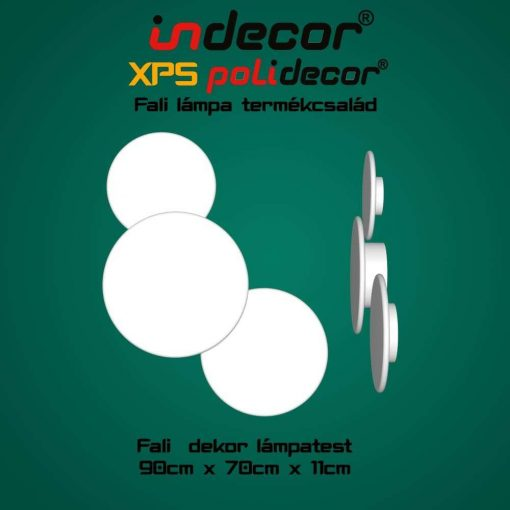 Indecor® XPS-lampa-03 Fali Dekor Lámpa test