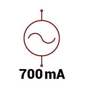 700mA