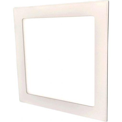 GREENLUX Mini Led Panel VEGA négyszögletes lámpa Fehér keret 18W Természetes fehér