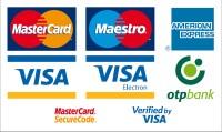 Bankkártyás fizetési lehetőségek