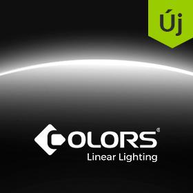 COLORS Linear Lighting elsőként Magyarországon!