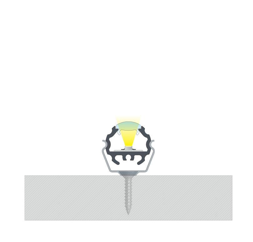 A MICO profil összeállítva, rögzítve
