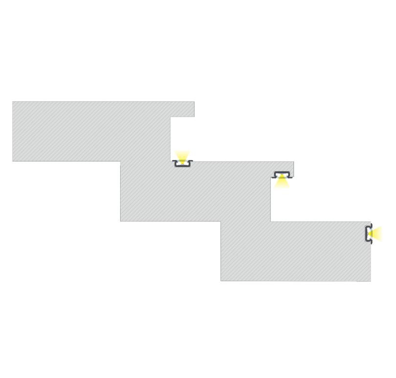 A Z profil egyenes és ívelt végzáróval