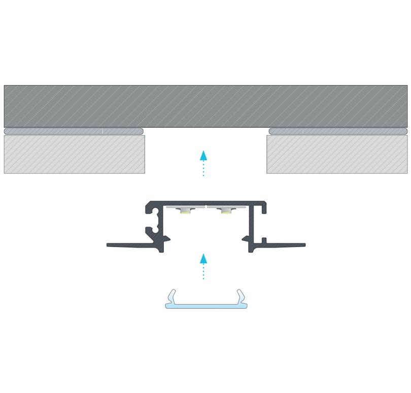 A ZATI profil összeszerelése segítségével